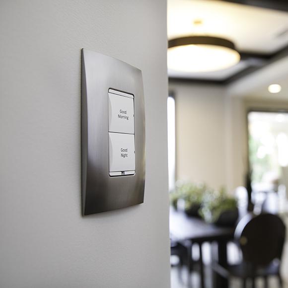 Ovládanie osvetlenia v systéme Control4 - klávesnice Control4