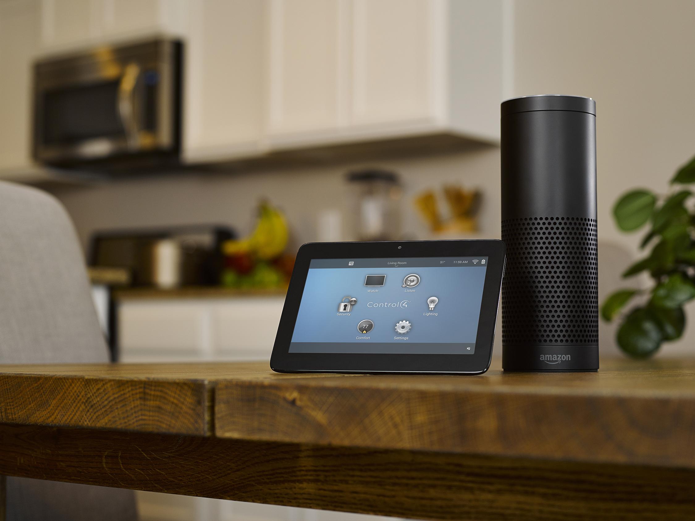Hlasové ovládanie inteligentnej domácnosti Control4