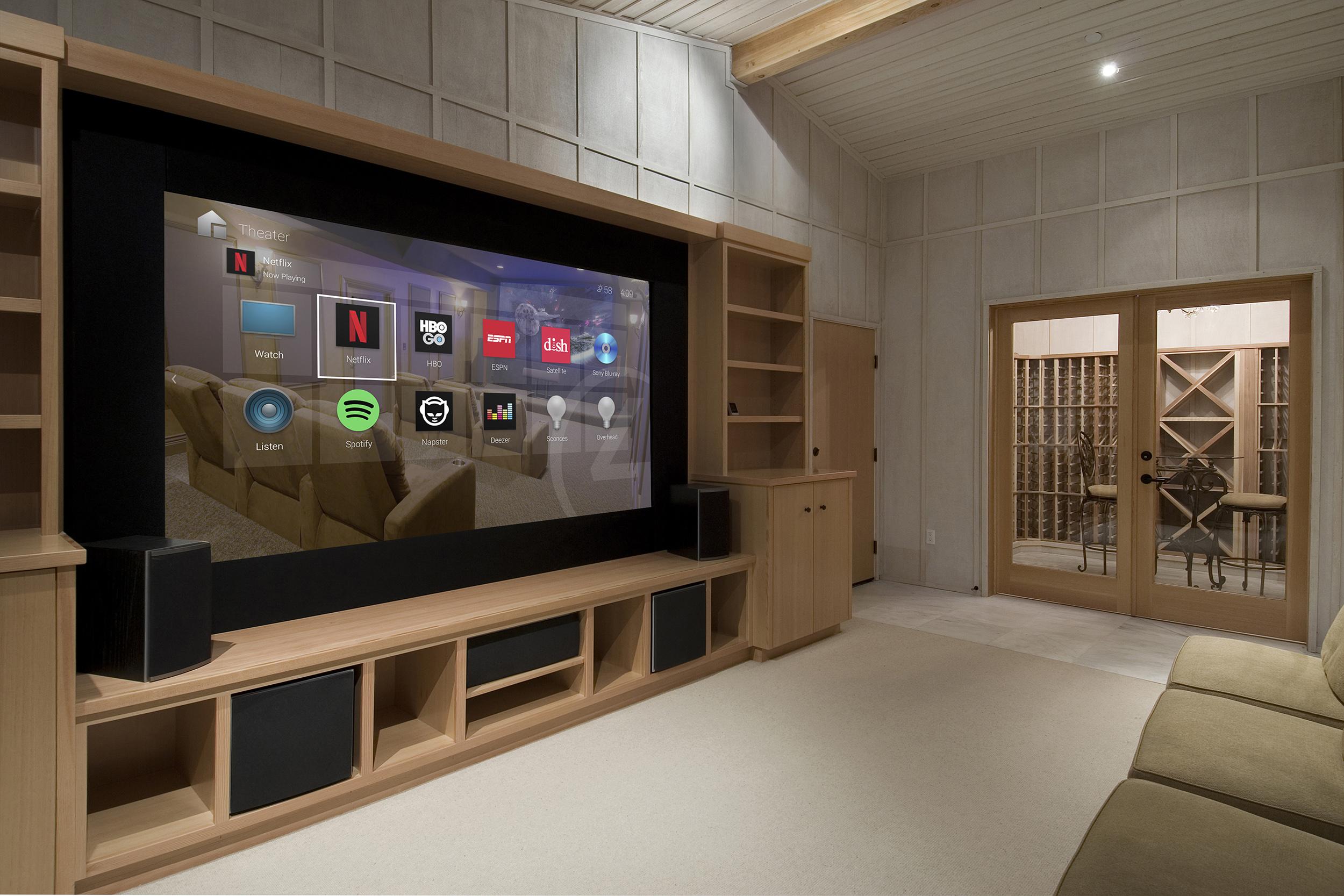 Streamovacie služby kdekoľvek vo Vašej domácnosti sú v Control4 samozrejmosťou