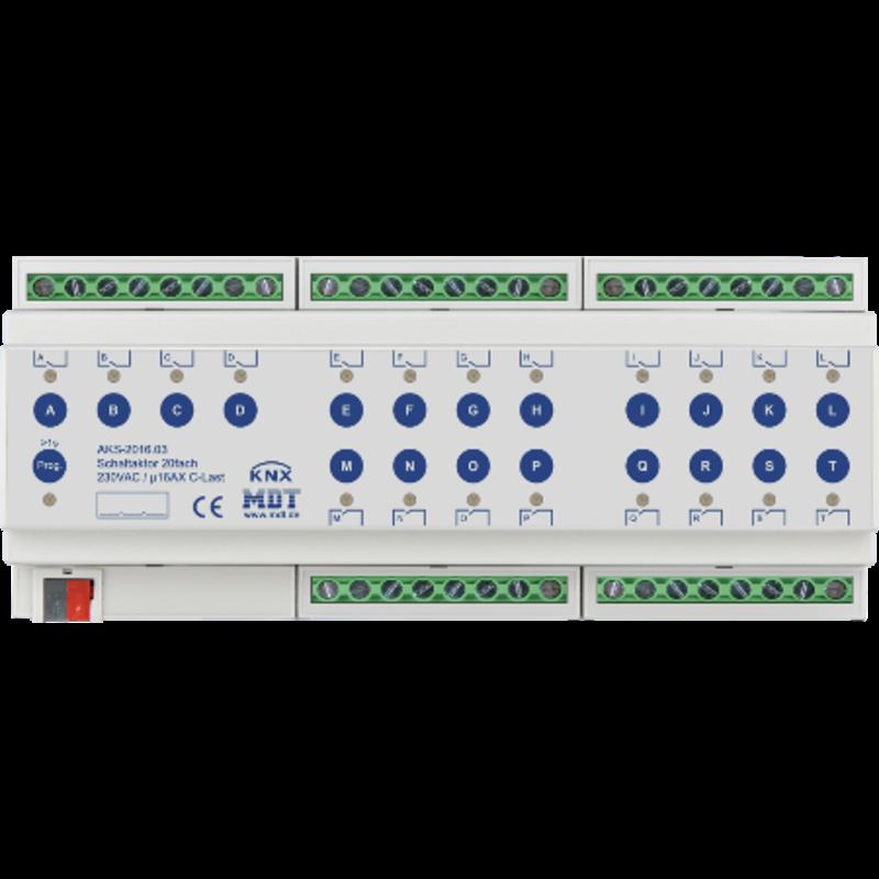 KNX štandard produkty MDT a ekinex